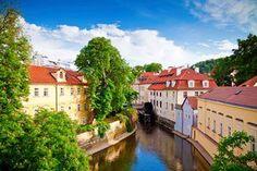 Czechy - Wyspa Kampa, Praha