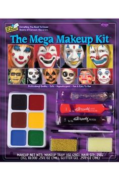 Fun World Halloween Mega Make Up Kit *** Be sure to check out this awesome product.