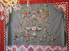 """Supergoof Quilts: """"Blomme Garden by step"""""""