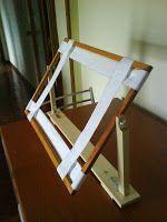 Montaje de un bastidor para bordar casero