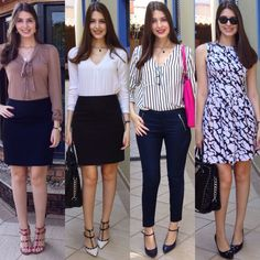 @lookbyus fashion style look do dia of the day work office fashion style