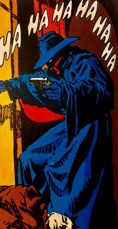 "THE SHADOW, by Michael W. Kaluta. ""NIGHT OF THE NINJA."" DC Comics."