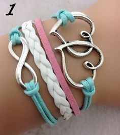 'Your Choice - Beautiful Leather Wrap Bracelet' is going up for auction at  6am Fri, Jun 14 with a starting bid of $5.