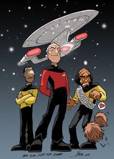 Star Trek 25 years by ~NachoMon on deviantART