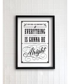 Everything is gonna be alright - vintage collection on Etsy by Evajuliet