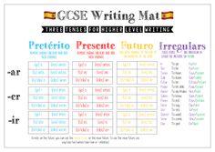 spanish writing ladder gcse by