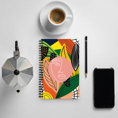 Dotted Page, Open Art, Wire Binding, Cool Notebooks, Digital Journal, Medium Art, Spiral
