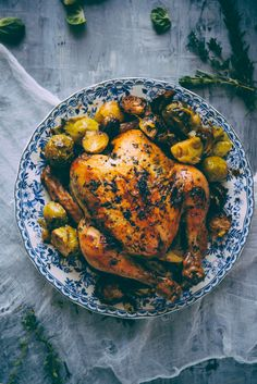 Succulent.  Juicy.  Tender.  This is exactly what this chicken is.  Read through to see the recipe...