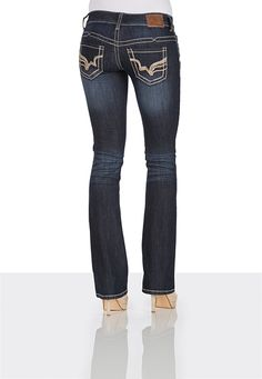 Replay - RAMEAN Bootcut-Jeans in dunklem Blau | 7trends.de | pants ...