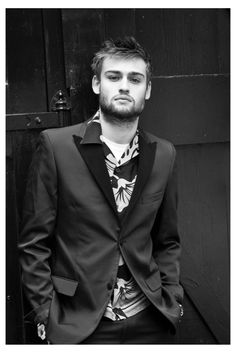 Douglas Booth Talks Posh with Interview Magazine