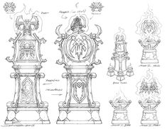 King's Crest Bell Towers from Heroes of the Storm