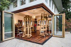 wide open art studio!
