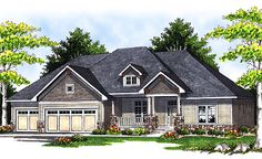House Plan Details for Plan# 82904LL - Walk-out House Plans: 4381 Sq Ft, 5 Bedrooms, 3 Bathooms, 3 Garage Stalls