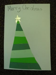 Share the learning journey of 23 amazing Year 4 children at Fieldhead Carr Primary School, Leeds. Christmas Cards To Make, Christmas Themes, Christmas Crafts, Year 4 Classroom, 9 Year Olds, School Stuff, Card Making, Merry, Shapes