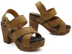 Chunky and funky, the Fiorentini + Baker Dina has a cork sole and a cool retro vibe! xo, Ped Shoes.