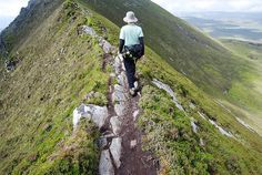 Ireland is best explored on foot, whether you opt for a gentle afternoon stroll or take on the challenge of any of the 31 waymarked long-distance routes. There are coastal walks & mountain hikes; you can explore towns & villages along the way or steer clear of civilisation by traipsing along lonely moorland & across barren bogs.