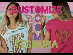 Camisetas customizadas: 60 modelos e passo a passo!