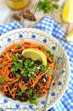 salade lentilles carottes - vinaigrette au curry 2