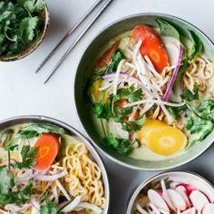Spicy Thai Green Curry Ramen