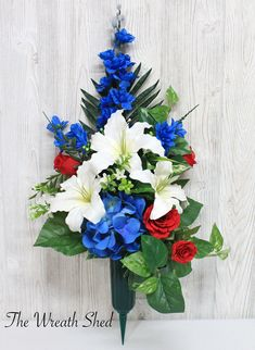Grave Flowers, Cemetery Flowers, Funeral Flowers, All Flowers, Cemetery Vases, Cemetery Decorations, Cemetery Headstones, Memorial Day Wreaths, Memorial Flowers