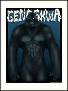 Genoskwa- Native American folklore: large, bigfoot-like creatures with hard skin and a fondness of throwing rocks. They are extremely territorial and aggressive, twisting their victims heads until their decapitated.