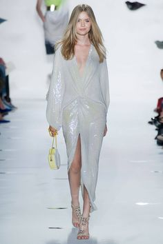Shimmer dress @ Diane Von Furstenberg Spring 2013 RTW Collection #NYFW