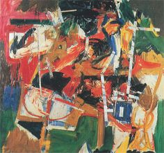 ichael Goldberg, Untitled, 1955, oil on canvas, 57 ½ × 60 ½ inches.