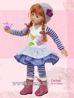 Кукла Карлина 26 см - Интернет магазин Коллекционные куклы СиДоллс / CDolls.ru