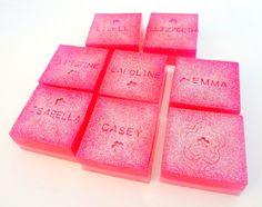Girls Spa Bar Soap - Spa Party Favor - Wedding Shower Favor