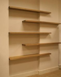 floating shelves by allisonn