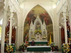 Altar Mayor Iglesia La Auxiliadora, Cartago, Costa Rica
