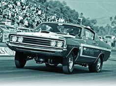 Photo Courtesy: Bob McClurg, from his archives Randy Payne is driving this Ford Torino