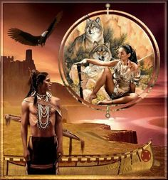 Indian dreams from facebook Native American Art