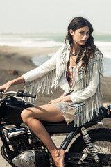 The Hendrix Jacket - White
