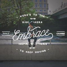 Instagram: 'Embrace change' by @jeremyvessey