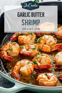 Shrimp Recipes Easy, Fish Recipes, Seafood Recipes, Asian Recipes, Appetizer Recipes, Great Recipes, Dinner Recipes, Cooking Recipes, Appetizers