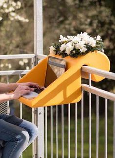 cool 25 Small Furniture Ideas to Pursue For Your Small Balcony Más