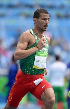 taoufik-makhloufi-of-algeria-competes-in-the-800m-heats-on-day-7-of-picture-id598651190 (383×594) Big Muscle Men, Sexy Tattooed Men, Sports Mix, Lycra Men, Big Muscles, Athletic Men, Cycling Shorts, Track And Field, Olympic Games