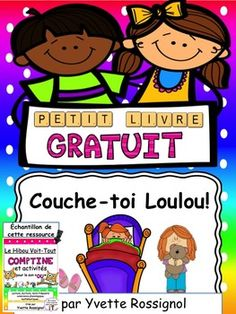 """Les enfants adorent la petite Loulou qui ne veut pas se coucher!! Mots fréquents avec le son """"ou"""""""