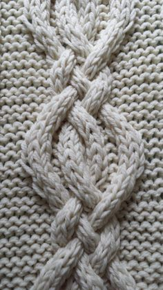 Twisted Cable Knit Blanket PATTERN by OzarksMomma on Etsy