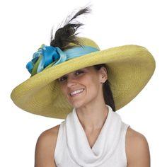 Christine A. Moore Tiffany - Panama Big Brim Hat. Derby Hats ... e8df0263eb94