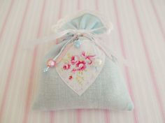 Shabby and Chic Lavender sachet by picocrafts on Etsy, $8.00