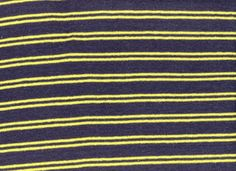 Hemp Knit Stripe Navy