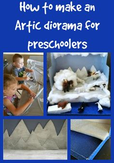 When I first started planning our Arctic Diorama, I had planned for us to make it at the end of our Polar Unit Study (for Preschoolers). I thought it would be a fun way to finish off our unit. But …