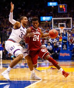 Buddy Hield : Fantastic photos from No. 1 Kansas vs. No. 2 Oklahoma 3-OT thriller
