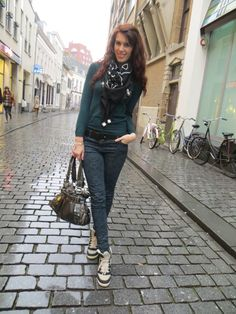 Merci Nathalie du blog Curls And Bags | Pantalon NAF NAF