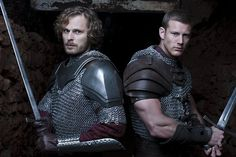 Sir Leon and Sir Percival - OMG, I love, like really really really really really love, Percival's arms... OMG