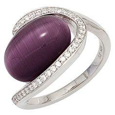 Damen-Ring 1 Katzenauge lila Silber 1 Zirkonia 58 (18.5) Dreambase http://www.amazon.de/dp/B00N5BGWM6/?m=A105NTY4TSU5OS
