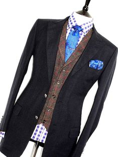 9fd14ddf7a828 MENS ALFRED DUNHILL NAVY 100% MOHAIR SARTORIAL SPORTS SUIT JACKET BLAZER 44R   fashion  clothing  shoes  accessories  mensclothing  suitssuitseparates  (ebay ...