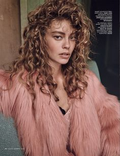 @fleurdemode ondria hardin by mariano vivanco for vogue russia november 2015 | visual optimism; fashion editorials, shows, campaigns & more!